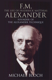 F.M. Alexander book cover